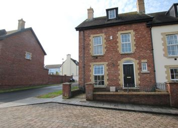 Thumbnail 4 bed terraced house for sale in Blackrock Square, Newtownabbey