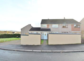 Thumbnail 3 bed semi-detached house for sale in Clist Road, Bettws, Newport
