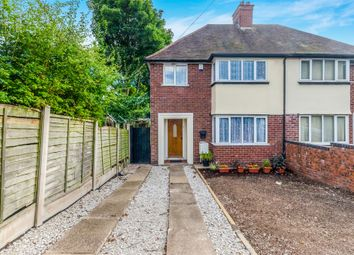 Thumbnail 3 bedroom semi-detached house for sale in Friezeland Road, Walsall