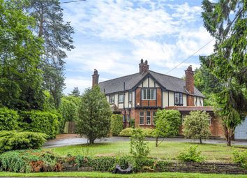 Thumbnail 4 bed detached house for sale in The Ridgeway, Cuffley, Hertfordshire
