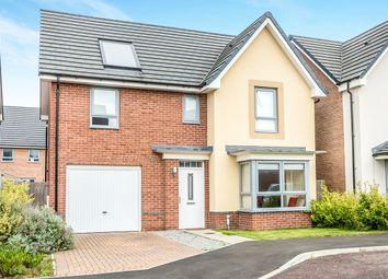 Thumbnail 4 bed detached house for sale in Byrewood Walk, Newcastle Upon Tyne