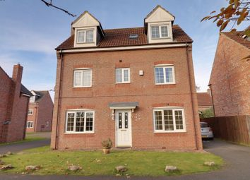 Thumbnail 5 bed detached house for sale in Waterhall, Epworth, Doncaster
