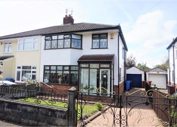 Thumbnail 3 bed semi-detached house for sale in Cypress Road, Liverpool