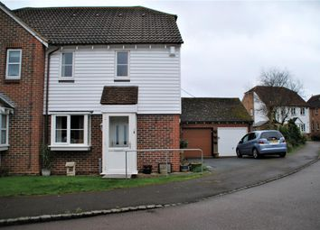 Thumbnail 1 bed semi-detached house for sale in Church Farm Close, Hoo, Rochester