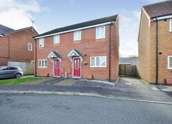 Thumbnail 3 bed semi-detached house for sale in Carnelian Drive, Sutton-In-Ashfield, Nottinghamshire
