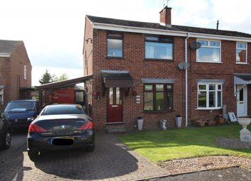 Thumbnail 3 bed semi-detached house for sale in Pennine Close, Tibshelf, Alfreton