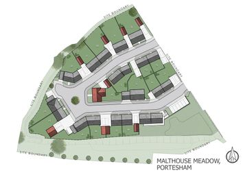 Thumbnail 3 bed semi-detached house for sale in Plot 14, Malthouse Meadow, Portesham, Weymouth