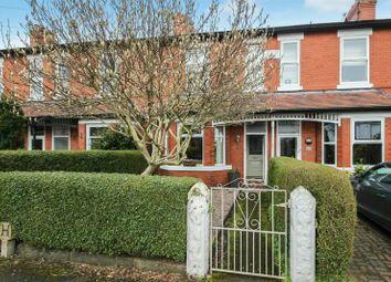 Thumbnail 3 bedroom terraced house for sale in Carrington Lane, Sale