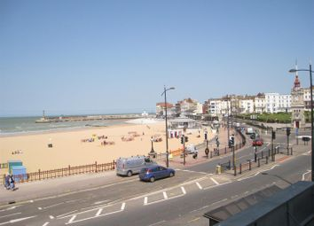 Thumbnail 1 bed flat to rent in Marine Terrace, Margate