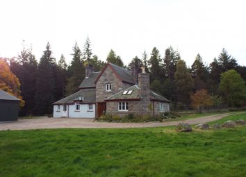 Thumbnail 4 bed detached house to rent in Tanarside, Glen Tanar, Aboyne, Aberdeenshire