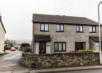 Thumbnail 3 bed semi-detached house for sale in Station Road, Flookburgh, Grange-Over-Sands