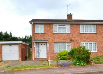 Thumbnail 3 bed semi-detached house for sale in St Anselm Place, St Neots, Cambridgeshire
