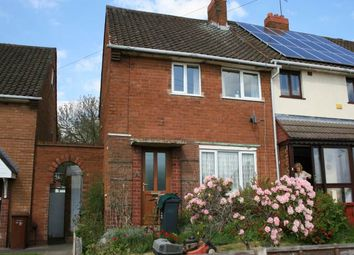 Thumbnail 2 bed end terrace house to rent in Stephenson Avenue, Beechdale, Walsall