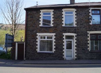Thumbnail 3 bed end terrace house for sale in Aberdare Road, Mountain Ash
