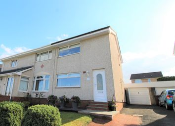 Thumbnail 2 bed semi-detached house for sale in Earlston Crescent, Coatbridge