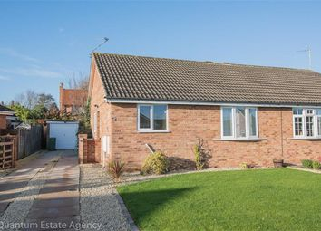 Thumbnail 2 bed semi-detached bungalow to rent in Reygate Grove, Copmanthorpe, York
