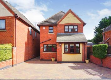 Thumbnail 3 bed detached house for sale in Brighton Avenue, Leicester