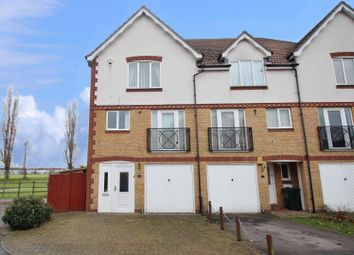 Thumbnail 4 bed town house to rent in Pentstemon Drive, Swanscombe