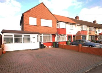 Thumbnail 3 bed semi-detached house for sale in Ruthven Avenue, Waltham Cross, Hertfordshire