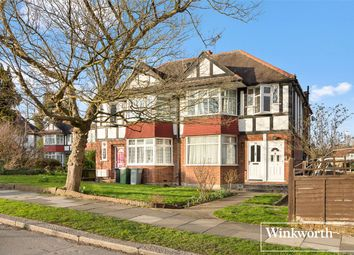 Thumbnail 1 bed flat to rent in Wells Drive, London