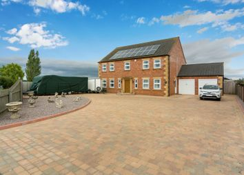 Thumbnail 4 bed detached house for sale in Sutterton Drove, Amber Hill, Boston, Lincolnshire