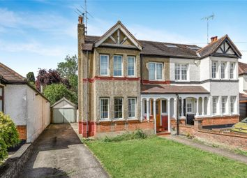 Thumbnail 4 bed semi-detached house for sale in The Crescent, Loughton, Essex