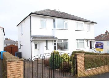 Thumbnail 3 bed semi-detached house for sale in Southlea Avenue, Orchard Park, Glasgow, Lanarkshire