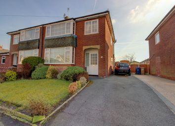 Thumbnail 3 bed semi-detached house for sale in Selkirk Drive, Walton-Le-Dale, Preston