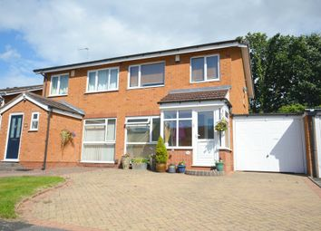 Thumbnail 3 bed semi-detached house for sale in Snowford Close, Shirley, Solihull