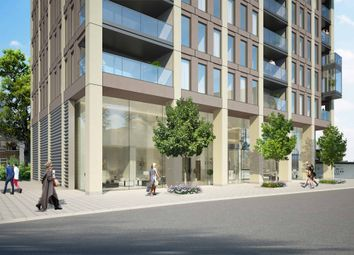 Thumbnail 1 bed flat for sale in Legacy Tower, 88 Great Eastern Road, London