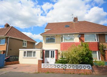 4 bed semi-detached house for sale in Northam Avenue, Llanrumney, Cardiff. CF3