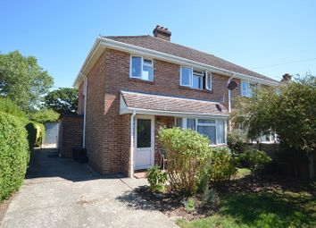 Thumbnail 3 bed semi-detached house for sale in Corbin Road, Pennington, Lymington