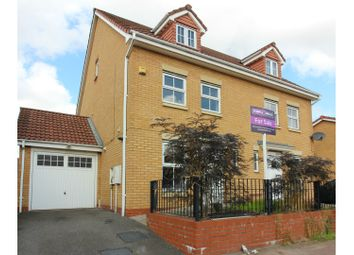 Thumbnail 4 bedroom semi-detached house for sale in Wrenbury Drive, Bilston