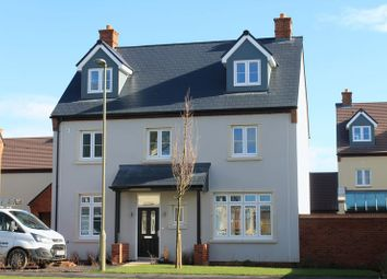 Thumbnail 5 bed detached house to rent in The Hunsden, Heyford Park, Bicester