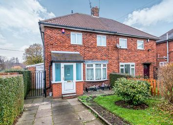 Thumbnail 2 bed semi-detached house for sale in Ruthin Road, Bentilee, Stoke-On-Trent