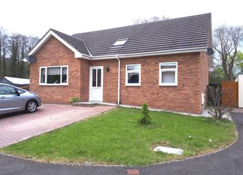 Thumbnail 4 bed bungalow to rent in Herons View, Pengam, Blackwood