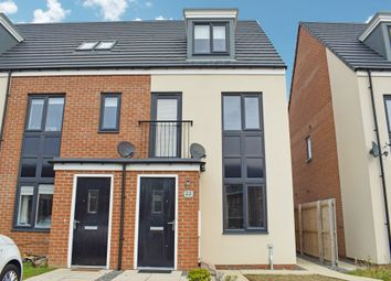 Thumbnail 3 bed town house for sale in Elmwood Park Mews, Newcastle Upon Tyne