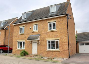 Thumbnail 5 bed detached house for sale in Duddle Drive, Longstanton, Cambridge