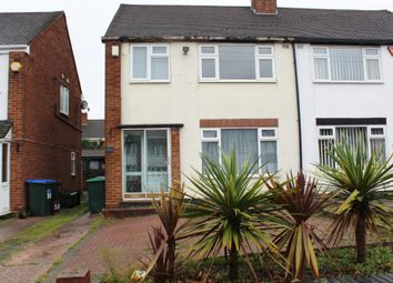 Thumbnail 3 bed semi-detached house for sale in Hamstead Road, Great Barr, Birmingham