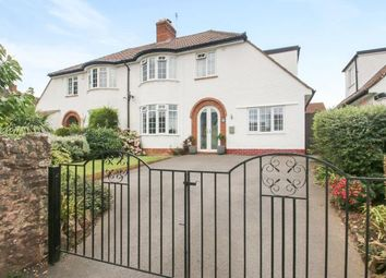 Thumbnail 4 bed semi-detached house for sale in Wembdon, Bridgwater, Somerset
