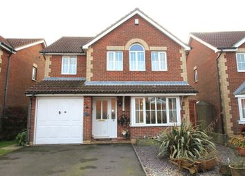 Thumbnail 4 bed detached house for sale in Horsley Close, Hawkinge, Folkestone