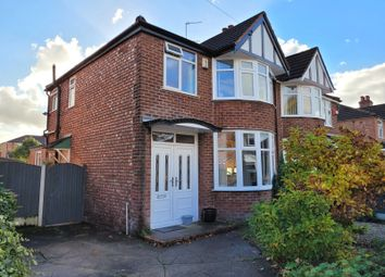 Thumbnail 3 bed semi-detached house for sale in Chestnut Drive, Sale