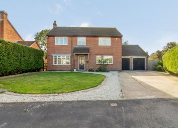 Thumbnail 4 bed detached house for sale in Blacksmiths Close, Nether Broughton, Melton Mowbray
