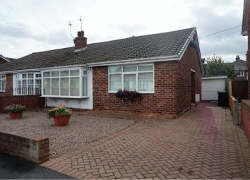 Thumbnail 2 bed semi-detached bungalow for sale in Sycamore Road, Doncaster
