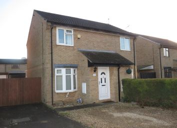 Thumbnail 2 bedroom semi-detached house for sale in Elm Close, Yaxley, Peterborough