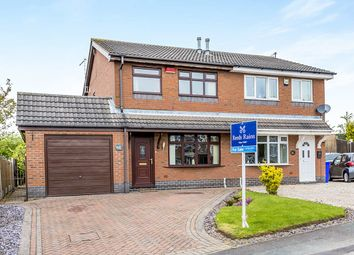 Thumbnail 3 bed semi-detached house for sale in Vienna Way, Longton, Stoke-On-Trent