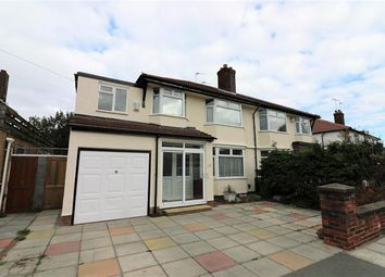 Thumbnail 4 bed semi-detached house for sale in Bayswater Road, Wallasey Village, Wirral
