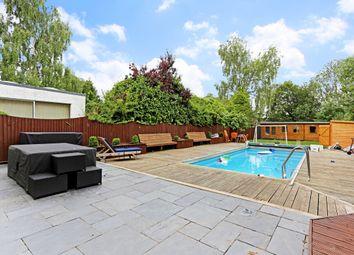 Thumbnail 5 bed detached house to rent in Edgwarebury Lane, Edgware