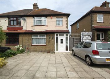 Thumbnail 3 bedroom semi-detached house to rent in Hall Road, Northfleet, Gravesend, Kent