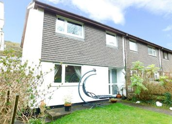 Thumbnail 3 bed semi-detached house for sale in Beach Road, Porthtowan, Truro